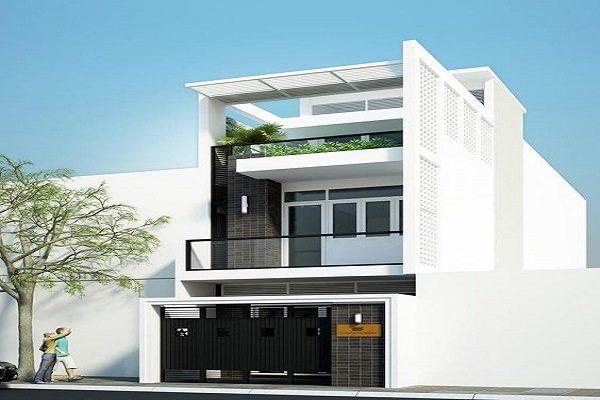 kiến trúc nhà đẹp 2 tầng
